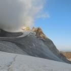 12.8.: Die ersten Blicke Richtung Gipfel