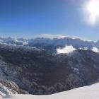 12.2.: Aussicht am Rand des Skigebietes