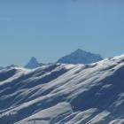 15.2.: Schon wieder Matterhorn und Weisshorn