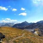 25.9.: Sonntags-Panorama: Rundumblick vom Pazolastock (oberhalb Badushütte)