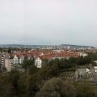 1.10.: Samstags-Panorama: Ausblick 9. Stock Tic Tric Trac, Zürich Binz #OHZ16