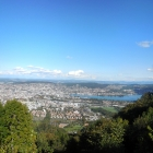 3.10.: Montags-Teil-Panorama: Zürich vom UtoKulm aus
