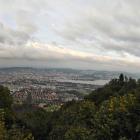 10.10.: Teil-Panorama Stadt Zürich, von Uto-Kulm aus