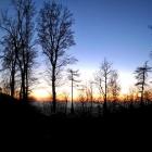 29.11.: Sonnenuntergang Uto-Kulm