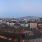 6.12.: Abend-Stimmung über der Stadt Zürich