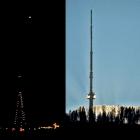 10.12.: samstägliche Lichteffekte Uto-Kulm