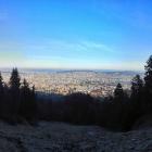 28.12.: Blick aus der Uetliberg-Ostwand