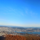 28.12.: Teil-Panorama von Uto-Kulm, mit Stadt Zürich und Zürichsee