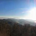 28.12.: Teil-Panorama von Uto-Kulm, mit Alpen