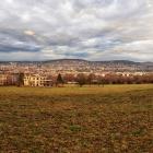 5.1.: Blick über die Stadt von oberen Friesenberg aus