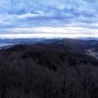5.1.: abendliches Panorama von Uto-Kulm aus