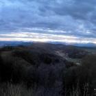 5.1.: Panorama-Blick Richtung Alpen von Uto-Kulm aus