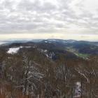 4.2: Blick von Uto Kulm mit versteckten Alpen