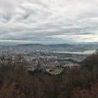 11.3.: Uetliberg Panorama Richtung Stadt Zürich