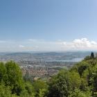 21.5.: Panorama von Uto Kulm, Blick zur Stadt Zürich