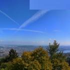 8.9.: Samstags-#Panorama von #UtoKulm – mit Blick über die Stadt Zürich und den Zürichsee #Zurich #Zuerich #Zuerichsee