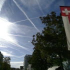 22.9.: #Nachmittags-Himmel mit #Boden-Sicht in der Schweiz – ist der #Klimawandel zu fern und zu abstrakt?