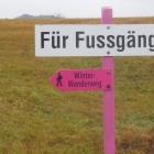 2.12.: In Einsiedeln kann der Winter(tourismus) kommen