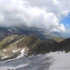 8.8.: Panoramablick vor dem Gipfel