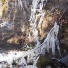 19.2.: Eiskunst oberhalb Luchsingen/Glarus Süd