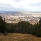 19.3.: Aussicht aus der Uetli-Ostwand