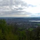 13.5.: Blick über die Stadt Zürichvon Uto Kulm aus