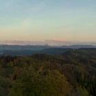 15.5.: Alpenbogen im Abendlicht von Uto Kulm aus