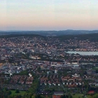 15.5.: Abendlicher Blick über die Stadt Zürich von Uto Kulm aus