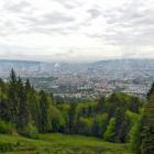 20.5.: Blick über die Stadt Zürich