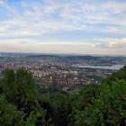 29.5.: Abendlicher Uetliblick über die Stadt Zürich