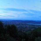 13.6.: Blick über die Stadt Zürich von Uto Kulm aus
