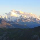 11.8.: Abendstimmung in der Bernina-Gruppe