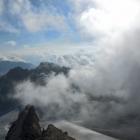 12.8.: Aufstieg im Nebeldampf