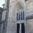 13.10.: Eingang zur Kathedrale