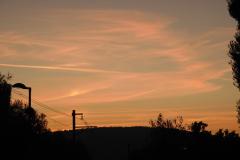 13.9.: Morgenstimmung bei der Abfahrt in Zürich
