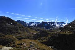 13.9.: Beim Tomasee, Blick zur Maighelshütte