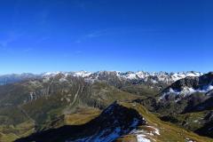 13.9.: Blick vom Vorderrheintal bis zum Bades