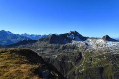 13.9.: Blick Richtung gestaltete Landschaft am Schneehüehnerstock