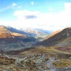 23.9.: Ausblick auf dem Weg vom Oberalppass zur Badushütte