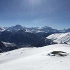 13.2.: rechts Matterhorn, Weisshorn