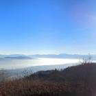 10.12.: Samstags-Teil-Panorama von Uto-Kulm - Stadt Zürich, Zürichsee, Alpen-Bogen