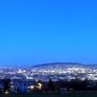 12.12.: Stadtlichter – Blick vom oberen Friesenberg auf die Stadt Zürich
