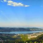 13.6.: Panorama vom Uetliberg