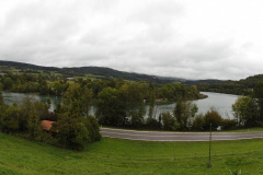 26.9.: Rhein bei Rümikon