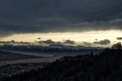 23.11.:  Aussicht Uetliberg