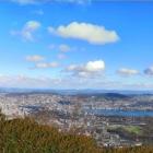 1.1.: Aussicht von Uto-Kulm (Hecken-Vordergrund ist eingefügte Kulisse)