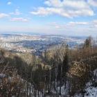 25.2.: Sonntags-Panorama: kalter Uetliberg-Ausblick