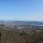 8.4.: Panorama Uto Kulm Richtung Stadt