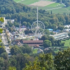 8.9.: Ausblick vom #Uetliberg: Knaben- und Mädchen-Schiessen-Chilbi findet statt (nicht auf dem Bild: das ist auch zu hören!)