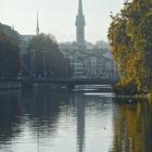 13.10.: Limmat in der Stadt Zürich